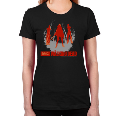 Michonne Chained Walkers Women's Fitted T-Shirt