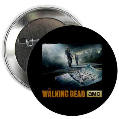 "Walking Dead New World Needs Rick Grimes 2.25"" Button"