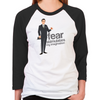 Mad Men Don Draper Women's Baseball T-Shirt