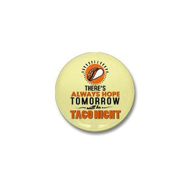 Taco Night Mini Button