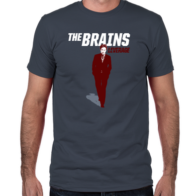 The Brains Fitted T-Shirt