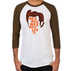 Ace Ventura Reaheeheelly Men's Baseball T-Shirt
