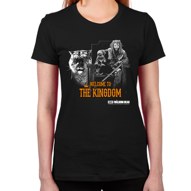 Welcome to the Kingdom Women's Fitted T-Shirt