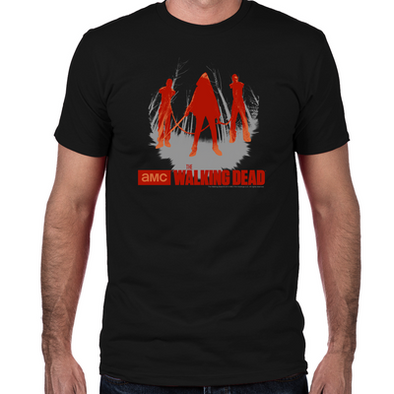 Michonne Chained Walkers Fitted T-Shirt