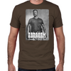 Abraham Silver Portrait Fitted T-Shirt