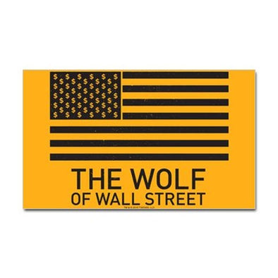 Wolf Of Wall Street MORE Sticker