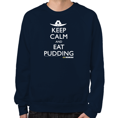 Keep Calm Eat Pudding Sweatshirt