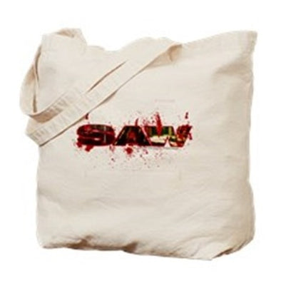 Saw Bloody Saw Tote Bag