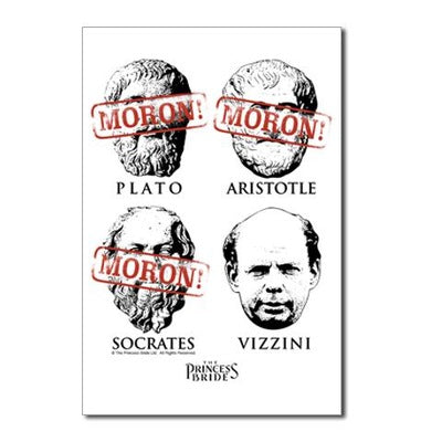 Morons! Postcards (Package of 10)
