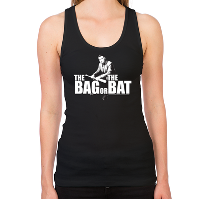 Bag Or Bat Women's Racerback Tank