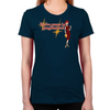 Mad Men Gangbusters Women's Fitted T-Shirt