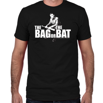 Bag Or Bat Fitted T-Shirt