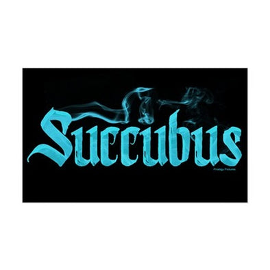 Smoking Succubus Sticker
