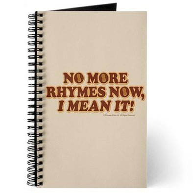 No More Rhymes Journal