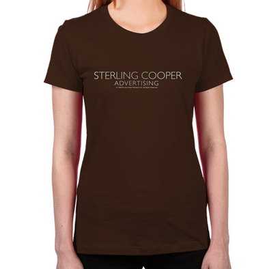 Mad Men Sterling Cooper Women's Fitted T-Shirt
