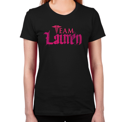 Lost Girl Team Lauren Women's Fitted T-Shirt