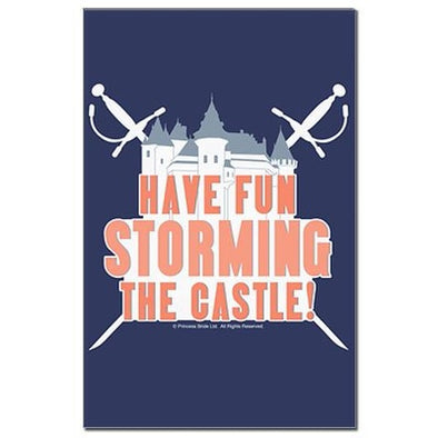 Storming the Castle Mini Poster