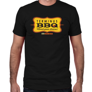 Terminus BBQ Fitted T-Shirt