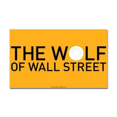 The Wolf Of Wall Street Sticker