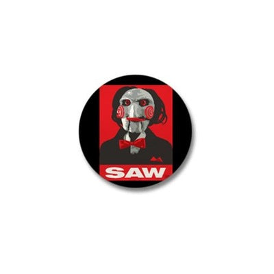 Saw Clown Mini Button