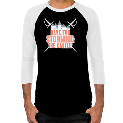 Storming the Castle Men's Baseball T-Shirt