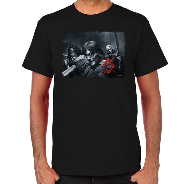 TWD Season X Comic Con T-Shirt