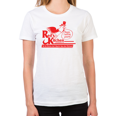 OITNB Red's Kitchen Women's Fitted T-Shirt