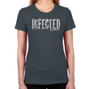 FTWD Infected Women's Fitted T-Shirt
