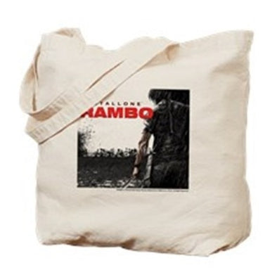 Rambo Battlefield Tote Bag