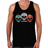 Three Skulls Men's Tank