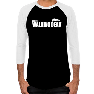 The Walking Dead Survival Men's Baseball T-Shirt
