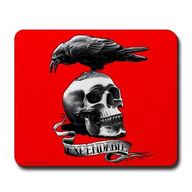Skull Tattoo Mousepad