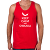 Ace Ventura Keep Calm Shikaka Men's Tank