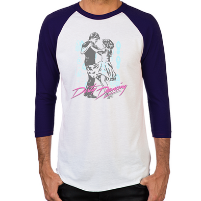Dirty Dancing Dance Moves Men's Baseball T-Shirt