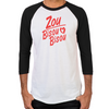 Zou Bisou Bisou Men's Baseball T-Shirt