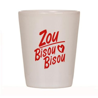 Zou Bisou Bisou Shot Glass