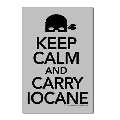 Keep Calm Carry Iocane Postcards (Package of 10)