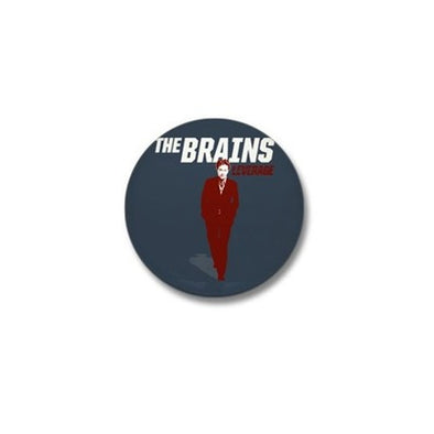 The Brains Mini Button