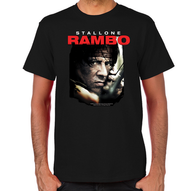 Rambo Close Up T-Shirt