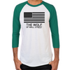 Wolf of Wall Street MORE Men's Baseball T-Shirt