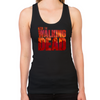 The Walking Dead Blood Logo Women's Racerback Tank