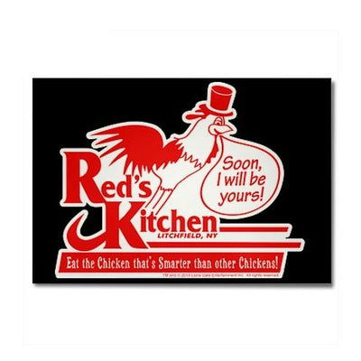 Red's Kitchen Rectangle Magnet