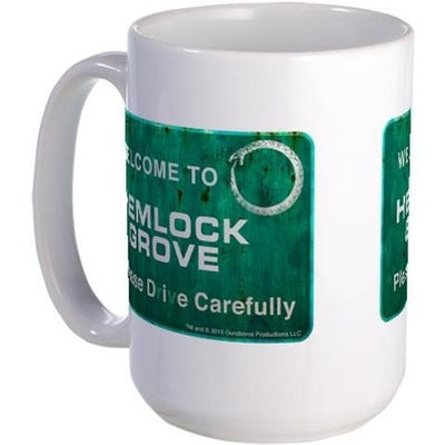 Welcome Hemlock Grove Large Mug