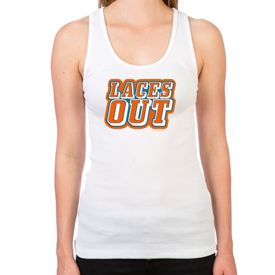 Ace Ventura Laces Out Women's Racerback Tank