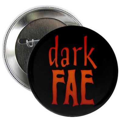 Lost Girl Dark Fae Button