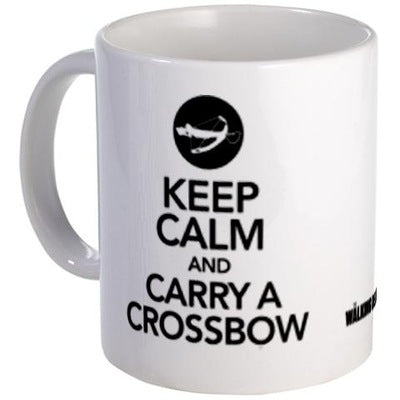 Keep Calm and Carry a Crossbow Mug
