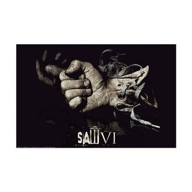 Saw Glove Mini Poster