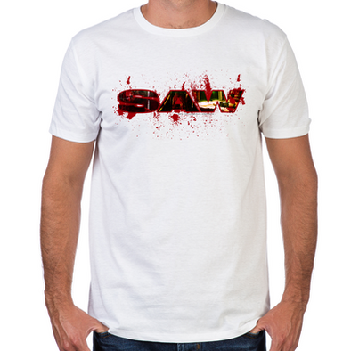 Saw Bloody Saw Men's Fitted T-Shirt