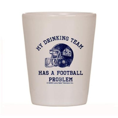 Blue Mountain State Drinking Team Shot Glass