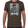 Carl Silver Portrait Fitted T-Shirt